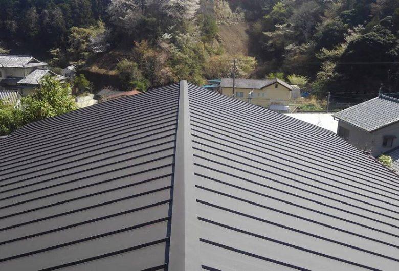 福島県いわ,屋根葺き替え工事